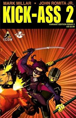 Kick-Ass 2 (2010-2012) #2 of 7 (1:10 Leinil Francis Yu Variant)