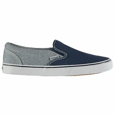 b7a9046a414686 SOULCAL MENS SUNSET Slip On Shoes Canvas Pumps Padded Ankle Collar  Elasticated -  16.50
