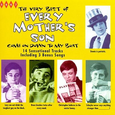 EVERY MOTHERS SON - The Very Best Of...  Come On Down To My Boat New Sealed CD