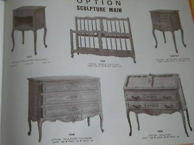 Vintage catalogue french Furniture Viard et marsal
