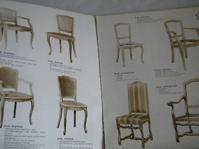 Vintage catalogues High quality french Furniture univeral style