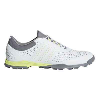 super popular 323b8 15678 Adidas 2018 Adipure Sport Womens Golf Shoes WhiteYellowGrey - Pick Size!