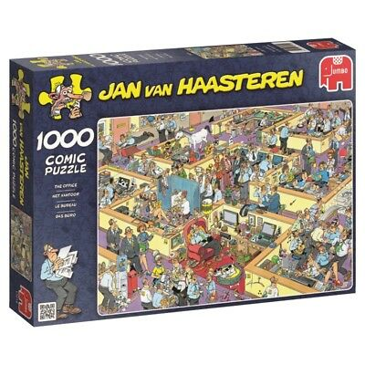 JAN VAN HAASTEREN - DAS BÜRO-THE OFFICE - Jumbo Puzzle 17014 - 1000 Pcs.