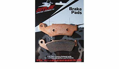 Outlaw Racing Sintered Front Brake Pads Yamaha YZ 125/250/450 OR450