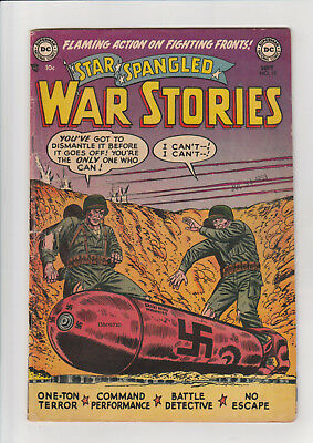 Star Spangled War Stories #13 (Sept 1953, DC) F scarce