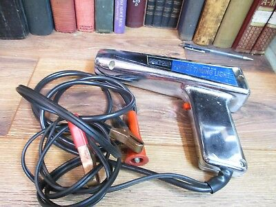 Vintage DAYTONA Power Timing Light Chrome Gun Engine Tuning - 6 and 12 Volt  ICS