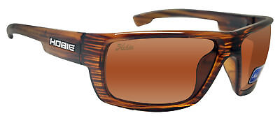 f7499d8e4d Hobie MOJO Shiny Brown Wood Grain Frame Copper Polarized Lens Sunglasses
