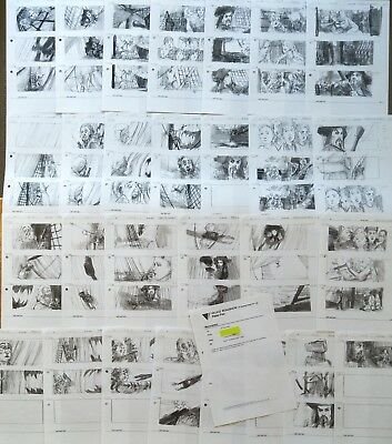 Production Used Copy Preliminary Storyboards Storyboard Art Memo Peter Pan Film
