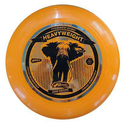 WHAM-O FRISBEE Wurfscheibe Heavyweight 200g Orange