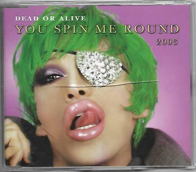 Dead or Alive You Spin Me Round 2003 CD Single