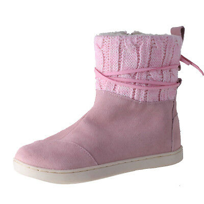 932dfaf0d TOMS GIRLS RAIN Boot shoes Pink Rubber 10003580 Size 6 -  34.95 ...