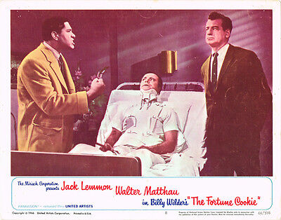 The Fotune Cookie Original 11X14 Lobby Card Jack Lemmon Walter Matthau