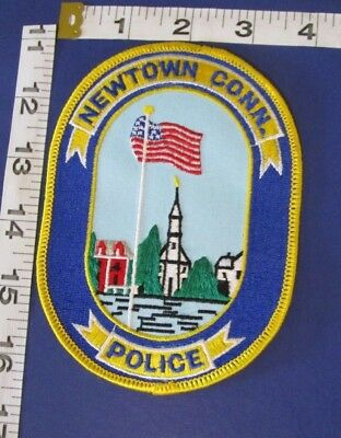 Newtown Connecticut Police Shoulder  Patch