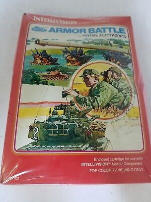 New W/crushed Box Armor Battle For Intellivision Gatefold Hong Kong Varient N26