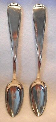 Silver Unknown Silversmith Bodal Pair of Teaspoons, 1896