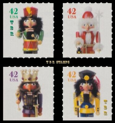 4364-67 4367 Holiday Nutcrackers Singles From Vending BK306 2008 MNH - Buy Now