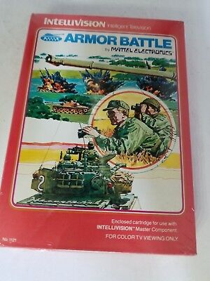 New Sealed Armor Battle For Intellivision This Is A Gatefold Varient Edition K35