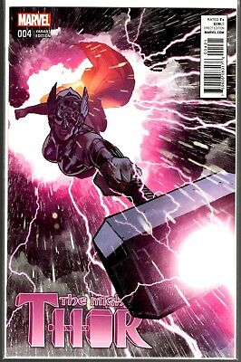 Marvel Comics THE MIGHTY THOR #4 ADAM HUGHES VARIANT COVER 1:50