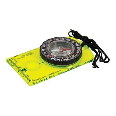 Ultimate Survival Technologies Hi Vis Deluxe Map Compass