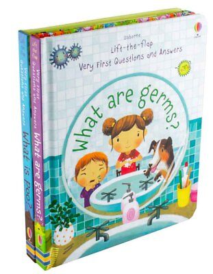 Usborne Lift-the-Flap Very First Questions and Answers, What is Poo?, What are G