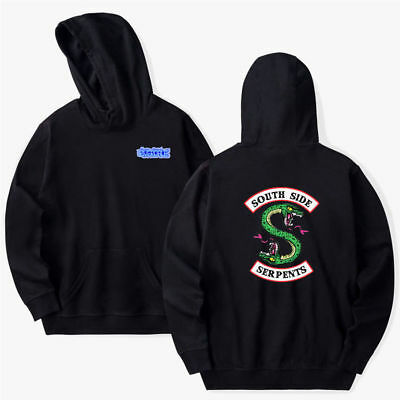 Southside Serpents Mens Riverdale TV Show Hoodie Programme Unisex Pullover