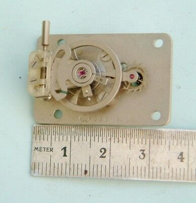 Clock makers Platform escapement with good swinging balance nice condition