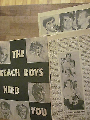 The Beach Boys, Three Page Vintage Clipping