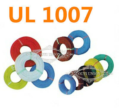 UL1007 18AWG 20AWG 22AWG 24AWG 26AWG 28AWG Cable Cord Hookup Harness Wire Strip