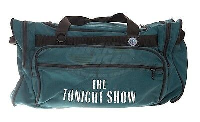 Canvas Equipment Bag The Tonight Show Jay Leno Television Show ScreenUsed COA