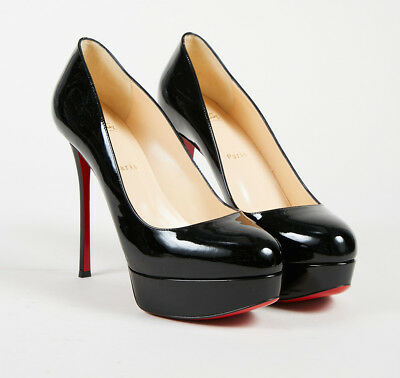 08706272c2e Christian Louboutin NWT Black Patent Leather