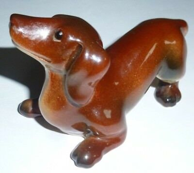 Goebel CH573 B Dachshund figurine 4.5cm high excellent condition