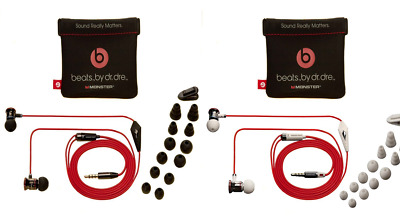 iBeats by Dr Dre Control Talk Mic In-Ear Earbuds Beats Buds Headset Headphones