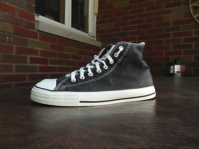 e1eee7e339c6 Vintage 1990S Converse Chuck Taylor All Star Hi Top Shoes Made In Usa Sz 9.5