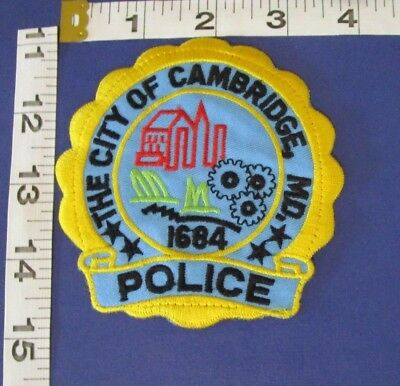 Cambridge Maryland  Police  Shoulder Patch