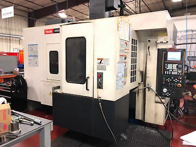 USED MAZAK VARIAXIS 500-5X CNC VERTICAL MILL 5-Axis 80 Tools Pallet Changer TSC