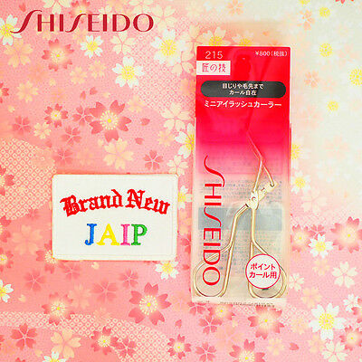 SHISEIDO☆Japan-Eyelash Curler 215 MINI size with one refill pad .