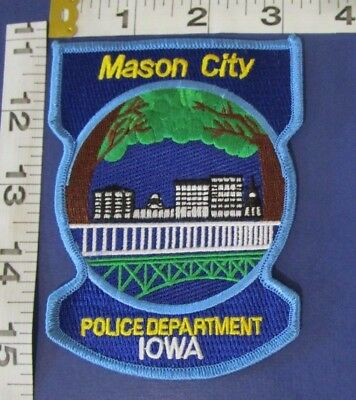 Mason City Iowa Police  Shoulder Patch