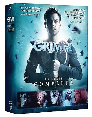 Dvd Grimm - The Complete Series 01-06 (34 DVD) NEW