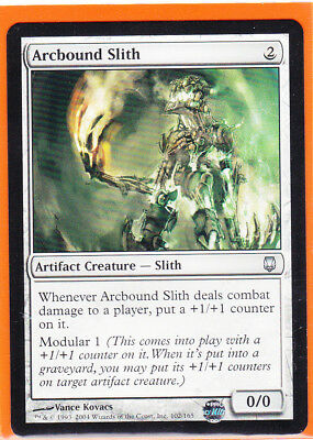 MTG 4x ARCBOUND SLITH Darksteel *DEUTSCH*