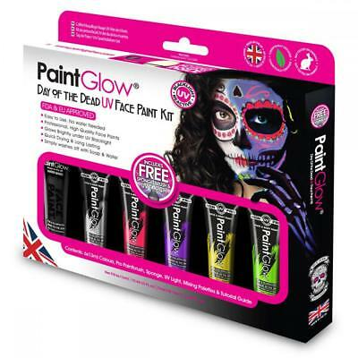 PaintGlow UV Day of the Dead Box Set- FAST USA SHIP!