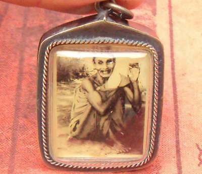 Locket Tablet Picture Famous monk  Lp Suang Wat Praipattana Temple