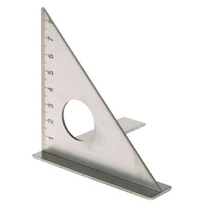 Woodworking Ruler Square Layout Miter Triangle Rafter 45° 90 degree Metric Gauge