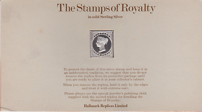 The Stamps of Royalty Silver Proof .925 Stamp Replica : Fourpence NO4