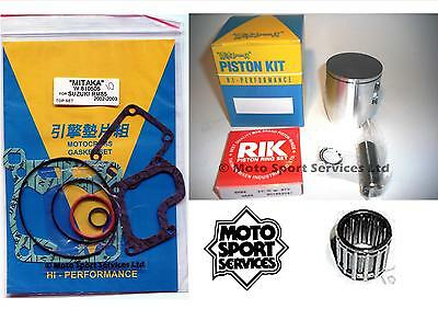 Suzuki RM 85 02-15 Mitaka Top End Rebuild Kit Piston (C) Gasket  Bearing