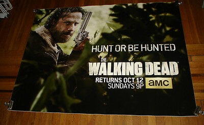 AMC THE WALKING DEAD SEASON 5 5FT subway POSTER TWD Andrew Lincoln Rick Grimes