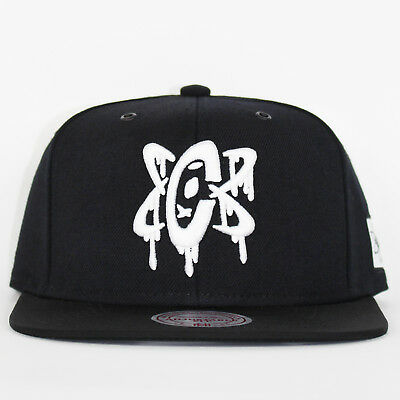 Mitchell & Ness x Capology Atom Black Snapback Limited Edition Baseball Cap