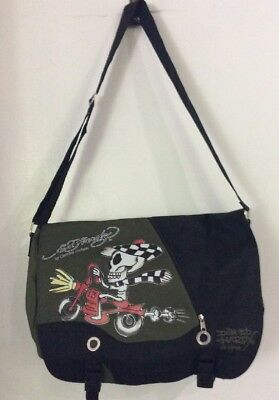 DON ED HARDY by Christian Audigier Messenger Bag NEW WITH TAGS ... 8c0a0d0bd4951