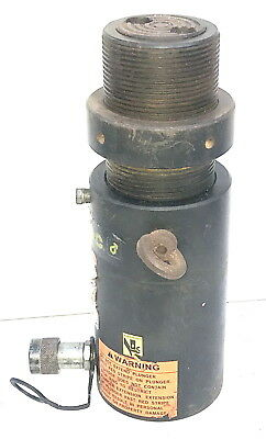 Enerpac HCL-508 50 ton Locking Nut Hydraulic Cylinder 50T - 200mm Stroke