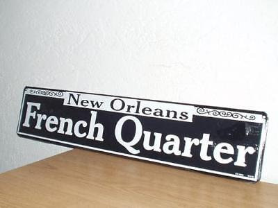 New Orleans - French Quarter Metal Street Sign  New  24 x 5