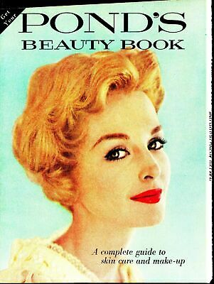 Print Ad~Vintage~1958 Pond's Beauty Book Supplement from Redbook~F800